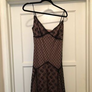 Betsey Johnson Dresses - Vintage Black Lace Betsey Johnson Dress